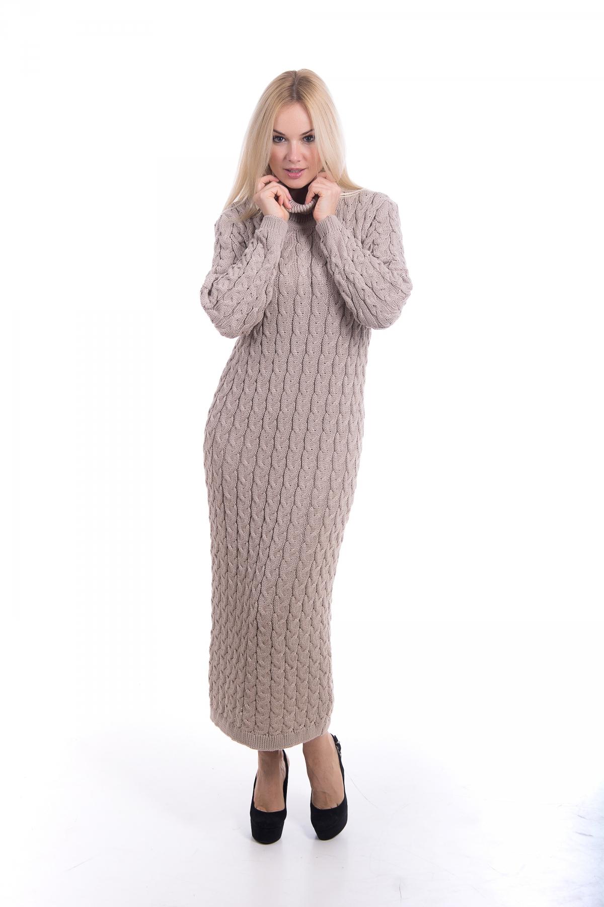 Платье вязаное Ксения