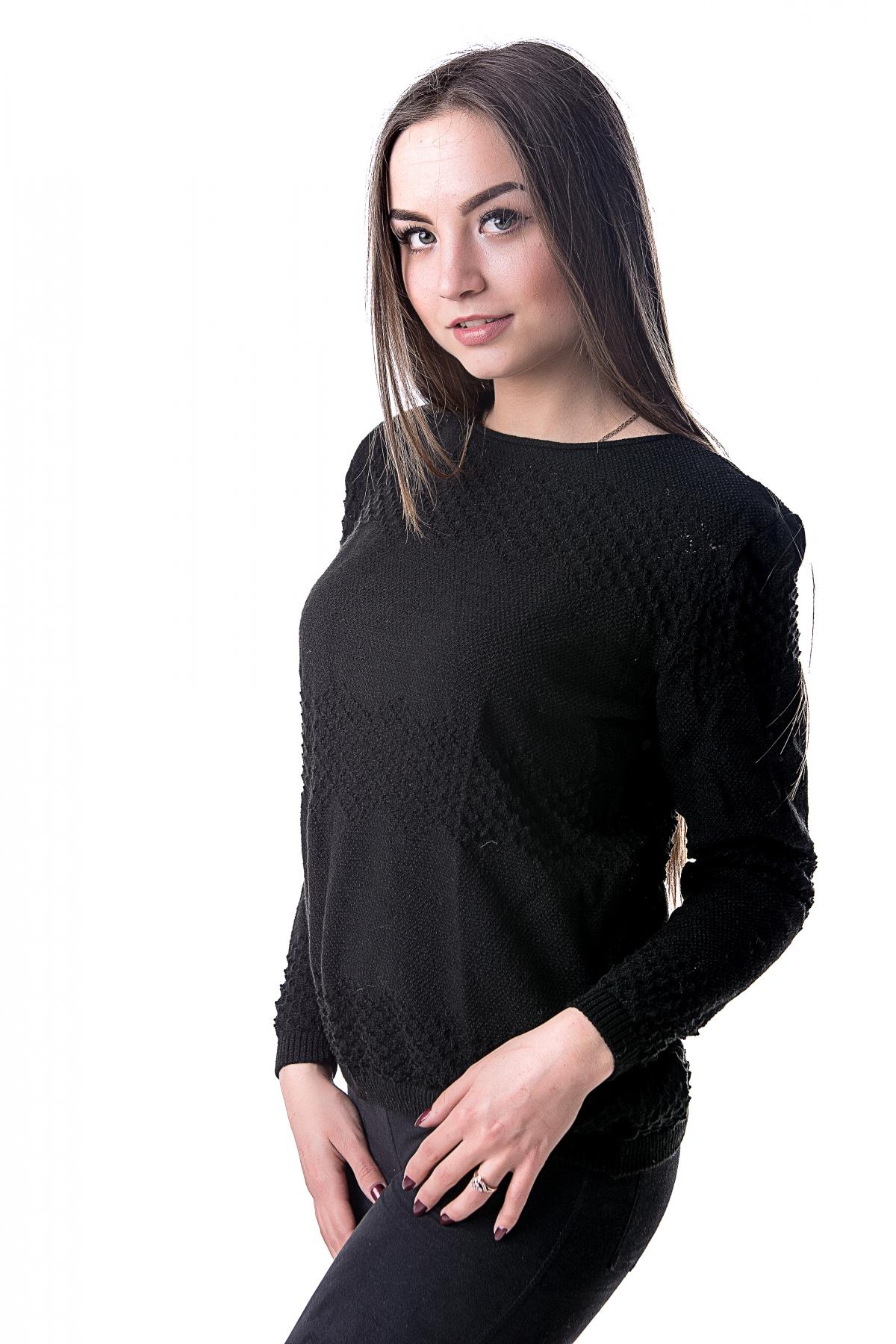 Черный джемпер женский доставка